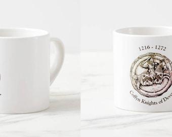 Coffyn Knights of Devon Espresso Cup