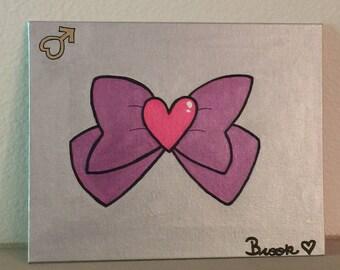 Sailor Moon Series 04. Super Sailor Mars Bow Canvas Painting