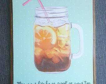Sweet Tea Sign