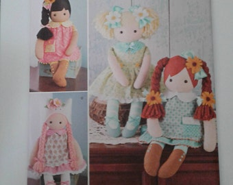Simplicity Pattern 8402 DOLL and CLOTHES