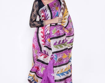 Handcrafted Pure Silk Saree