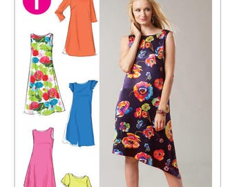 M6465 Mc Call's dress sewing pattern