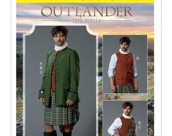 By McCall's M7736 Outlander costume sewing pattern