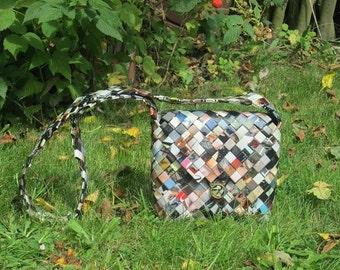 bag: 6 n upcycled magazine