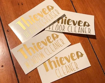 Thieves Cleaner Labels (4 pack)