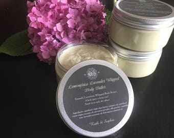 Lemongrass Lavender Whipped Body Butter