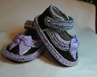 Sparkle Girl's Baby Shoes 6-9 months