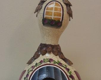 Bottle Gourd Birdhouse