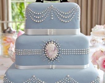 Mr&Mr Funny Gay Male Wedding Cake Topper