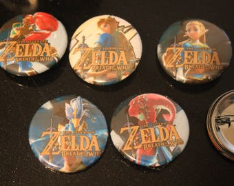 Breath of the Wild Buttons
