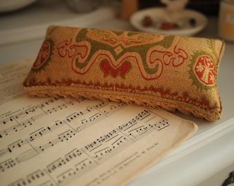 Vintage Chinese Fabric Pincushion