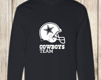 Dallas Cowboys Long Sleeve T-Shirt Graphic
