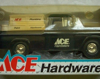 1955 Chevrolet Cameo Pickup Truck Bank ACE Hardware ERTL 1/25 Die-Cast