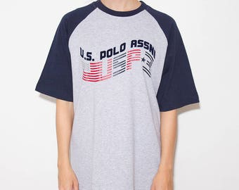 US Polo Assn, 90s Tshirts Tumblr, 90s Clothes, 90s Tshirt, Tumblr, 90s Sports, Tumblr Shirt, 90s Shirt, Graphic Tee, Tumblr Clothing, 90s