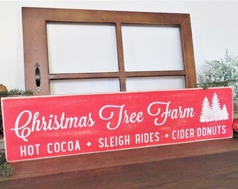 Christmas Trees for Sale Wooden Sign. Christmas Tree Farm Sign. Distressed Christmas Sign. Farmhouse Christmas Tree Sign. Rustic Christmas