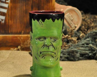 Tiki Tiki Monster's Monsterstein Tiki Mug Gangrene