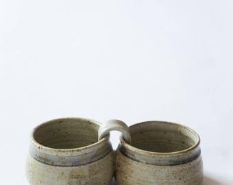 Double Ceramic Dish