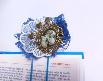 Handmade decorated paper clip - cheap gift idea