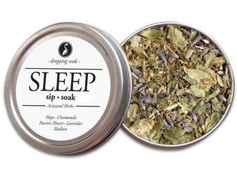 SLEEP Herbal Blend - Chakra Tea - Herb Blend, Herbal Magic, Diy Herbal Blend, Chakra Blend, Herbal Tea Blend, Herbal Soak, Herbal Bath Salts
