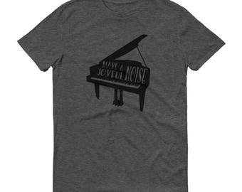 Make a Joyful Noise Tee (Piano)