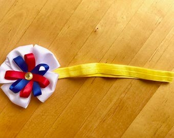Snow White Bow Headband for Teen or Adult