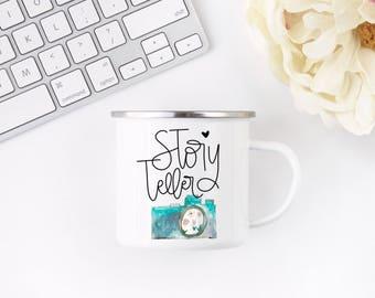 Story Teller | Photography Mug | Gift for Photographer | Gift for Wedding Photographer | Gift Idea for Photographer | Photographer Mug