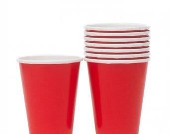 Red Paper Cups (pack of 20)