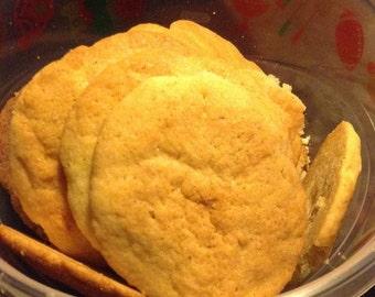 Half a Dozen Teacake Cookies