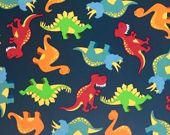 Dinosaur fabric etsy for Kids dinosaur fabric