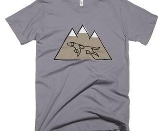 Mountain Dog Mens Short-Sleeve T-Shirt