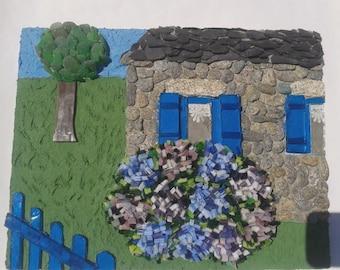 Table 3D Breton home