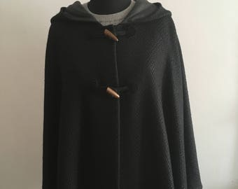 Hooded Wool Hood