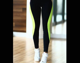 "Leggings ""Basic Lemon"""