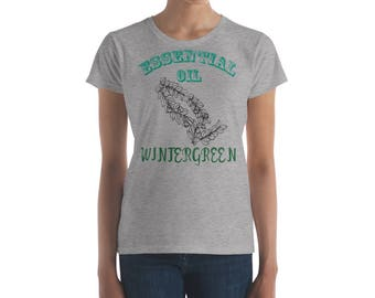 Essential Oil Wormwood Women's short sleeve t-shirt