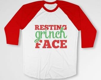 Funny Christmas Gifts For Men Grinch T Shirt Xmas TShirt Holiday Presents Christmas Humor Happy Holidays Merry Xmas Outfit X-Mas TEP-586