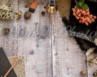 Black & Orange Winter Styled Stock Photo on Wooden Backdrop / Lifestyle Stock Image / Styled Stock Photography / Frankly Photos File #16