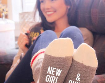 New Girl & Chill Cabin Socks