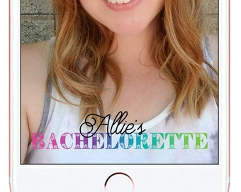 Bachelorette Party Snapchat Geofilter #3