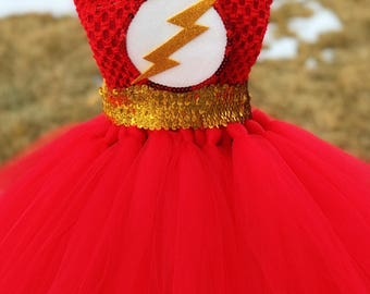 Adult The Flash Tutu Dress