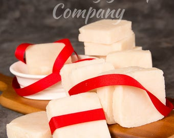 Peppermint Soap, clean, refreshing, wake you up in the morning.
