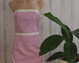 Strapless Lilac Dress