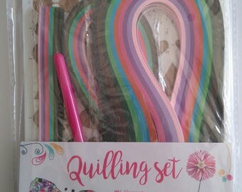 Kit for beginners quilling/quilling