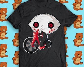 Family Guy - Saw Horror Movie - Jigsaw / Stewie Griffin Parody - JigStew - Geek Candy