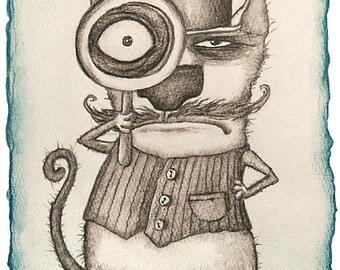 Cat Sherlock Holmes
