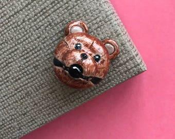 bdsm bear brooch
