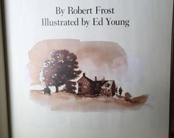Birches, poem by Robert frost, illustrated by Ed Young, 1988, Henry Holt and Co.
