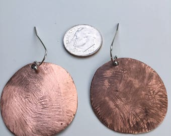 Round Planetary Earrings