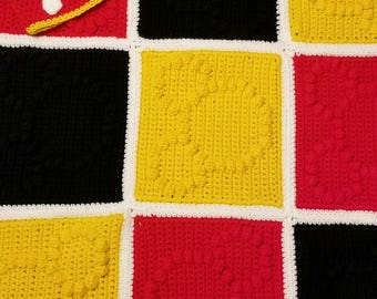 Mickey Mouse Blanket with Hat