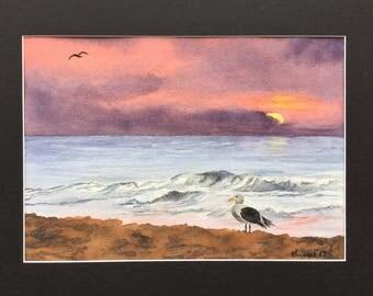 Shorebird - Original Watercolor