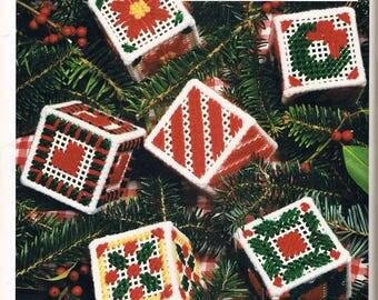 Handmade Finished Christmas Tree Potpourri Cube Ornaments
